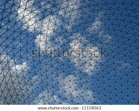 Biosphere is a museum in Montreal - stock photo