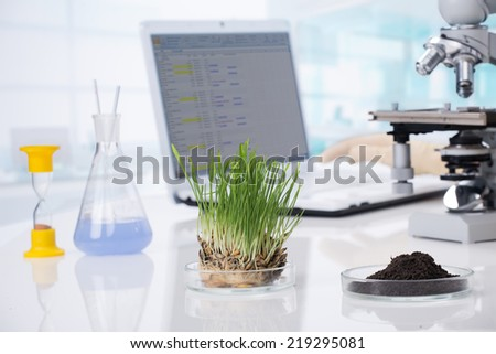 biotechnology - stock photo