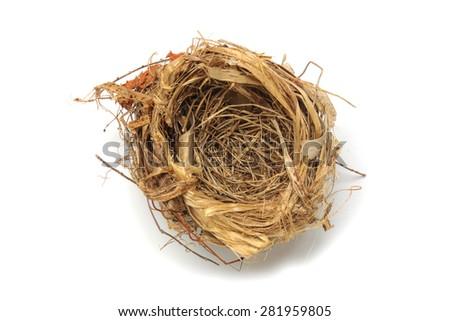 bird's nest - stock photo