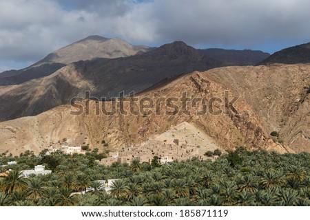 Birkat al-Mauz, Oman - stock photo