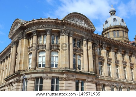 Birmingham - Museum and Art Gallery. West Midlands, England. - stock photo