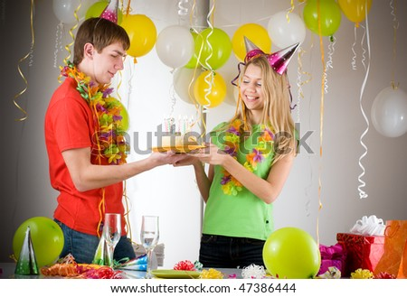 birthday - stock photo