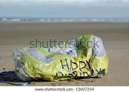 Birthday Balloon - stock photo