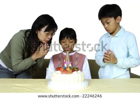 Birthday wishes - stock photo