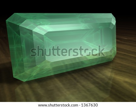 Birthstone for August- Peridot - stock photo