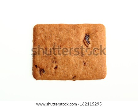 Biscuit (cookies) with cranberry