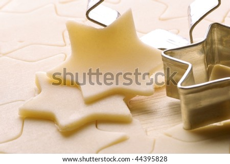 Biscuit dough and shape