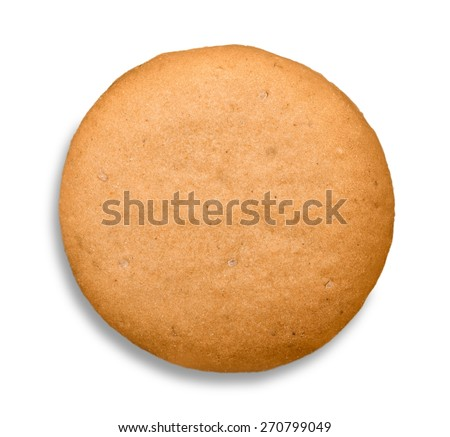 Biscuit, gingerbread, ginger. - stock photo