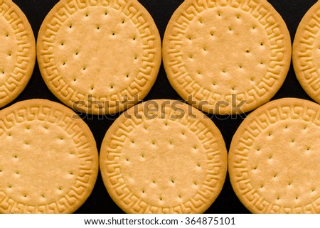 Biscuit or Cracker Background