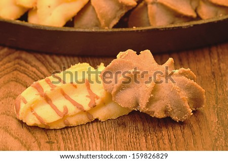 Biscuits  - stock photo
