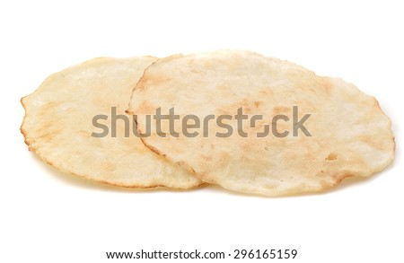 Biscuits Tasty on a white background - stock photo
