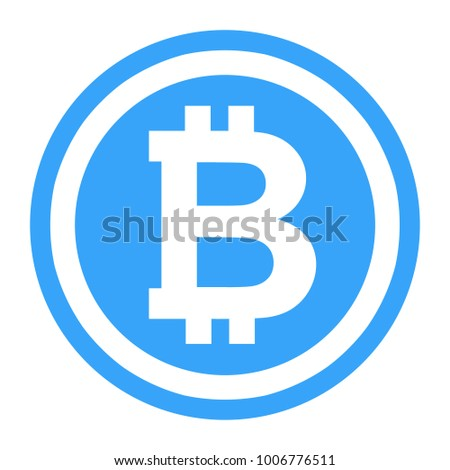 Bitcoin Symbol Illustration Logo Crtyptocurrency Bitcoin Stock