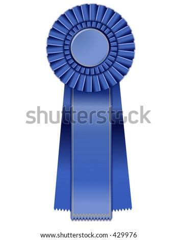 Bitmap Prize Ribbon - stock photo