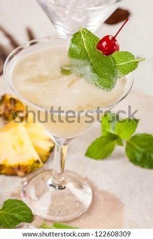 bitter sweet drink - stock photo