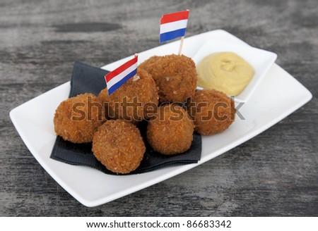 Bitterballen - stock photo