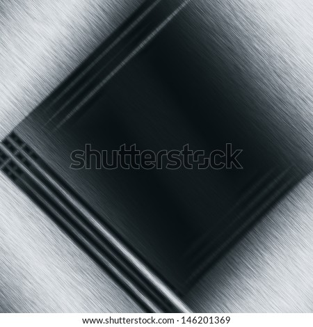 black abstract background metal texture