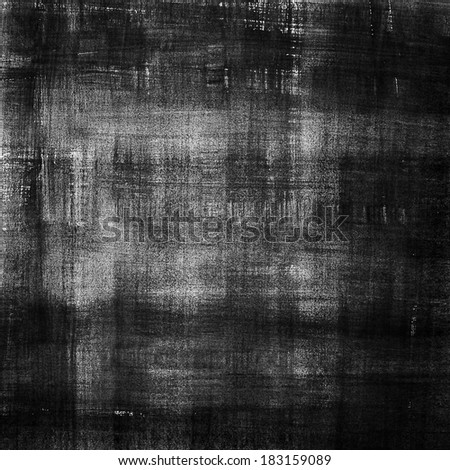 Black abstract watercolor macro texture background. Abstract aquarelle texture grayscale backdrop. Hand drawn technique.  - stock photo