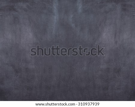Black and dirty chalkboard background - stock photo