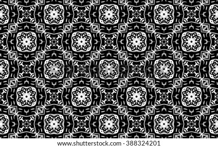 Black and gray pattern with patterns. H