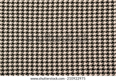 Black and pink houndstooth pattern. Dogstooth check design as background. - stock photo