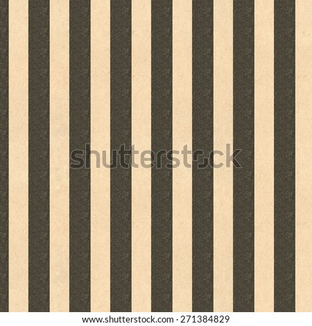 Black and tan striped vintage paper for backgrounds - stock photo