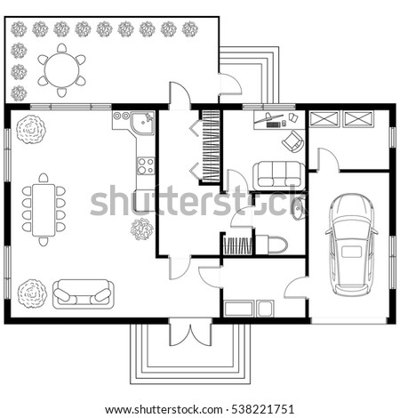 Apartment Room Blueprint room layout stock images, royalty-free images & vectors | shutterstock