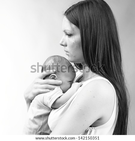 Stock Images similar to ID 90270058 - young mother with ...