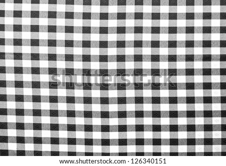 Black and white cloth - stock photo