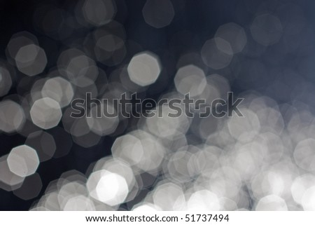 black and white defocused background - stock photo
