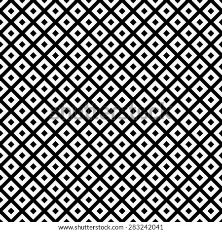 Black and White Diagonal Squares Tiles Pattern Repeat Background that is seamless and repeats