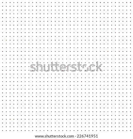 black and white dotted pattern - stock photo