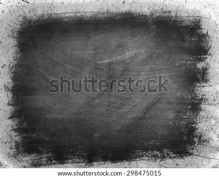 Black and white grunge background - stock photo