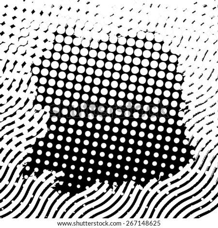 Black and white grunge background texture. - stock photo