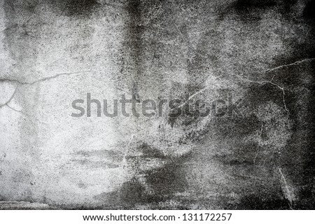 Black and white grunge background wall dirty texture