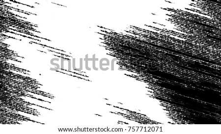 Black and white grunge pattern for design and background