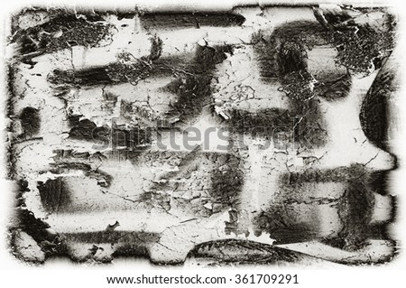 black and white grunge vignette texture