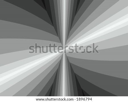 black and white lines - stock photo