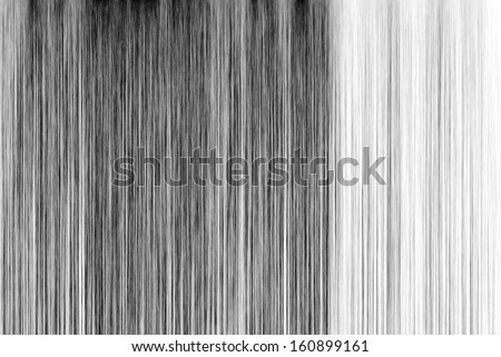 Black and White Long Fibers Background - stock photo