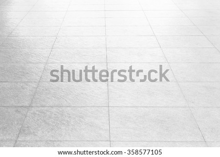 Black and White Marble floor texture  background .