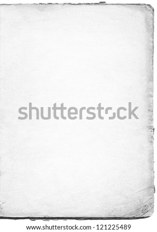 Black and white paper - stock photo