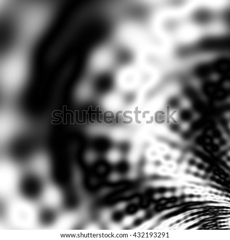 Black and white pattern backdrop design - stock photo