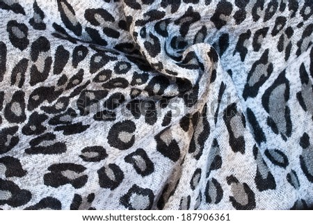 black and white printed textile