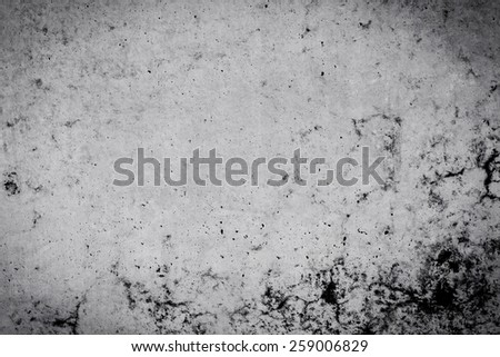 Black and white stone background wall dirty texture - stock photo