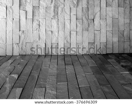 Black and white stone texture background