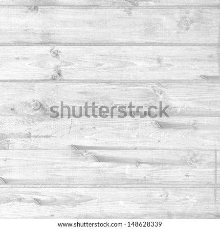 black and white wood texture, nature background - stock photo