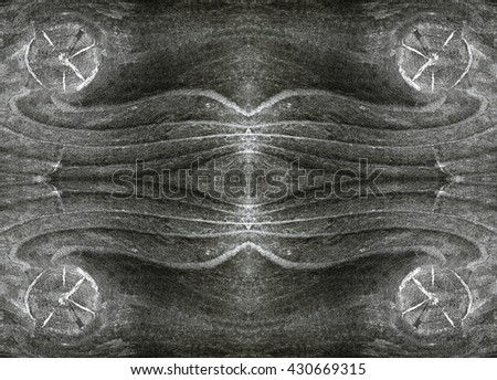 Black and White wood texture with natural pattern. - stock photo