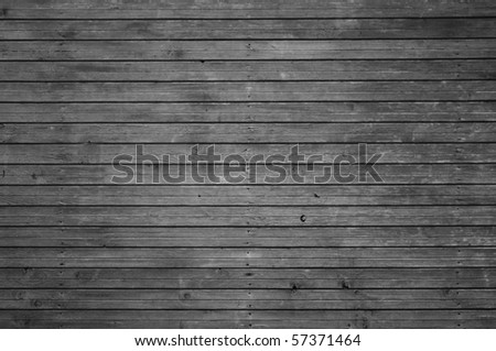 Black And White Wooden Background - stock photo