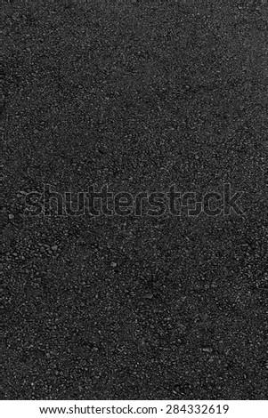 black asphalt textured - stock photo