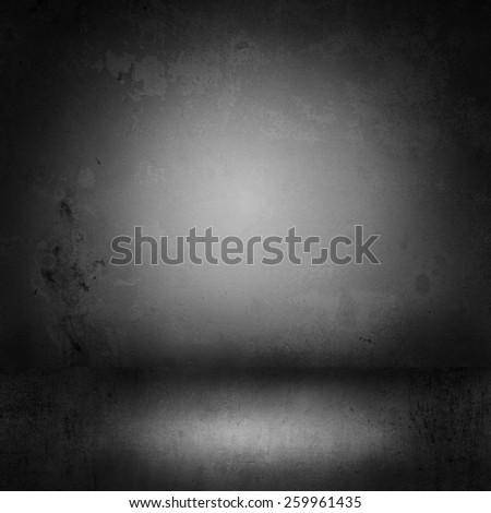 Black Backdrop, Studio Background - stock photo