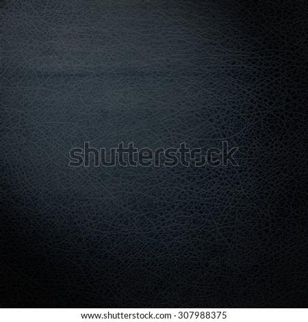 black background, black leather background texture pattern - stock photo